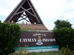 Cayman Islands Airport. Where you start your Cayman Aggressor trip.